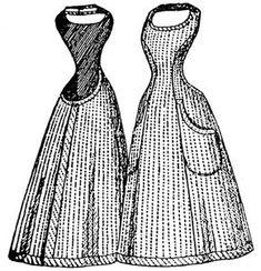 Past Patterns: #993: Apron: 1896