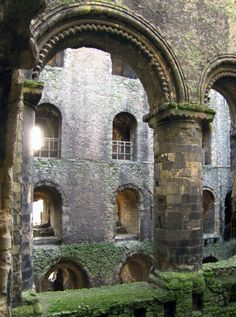 Inside the keep, Rochester Castle, Kent, UK