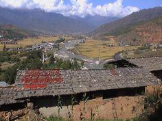 Drying Chiles in Timphu, Bhutan
