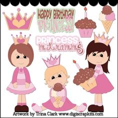 Little Princess 1 Clip Art