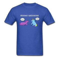 Stoner Unicorns T-Shirt (Men's Standard)