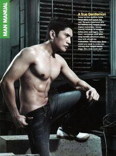 Dicky Surya // Cosmopolitan Man Manual // Shirtless // Muscle // Sixpack