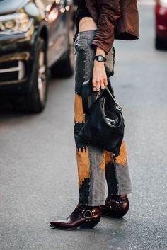 Best Denim Street Style Looks 2017 | British Vogue