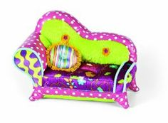"""Manhattan Toy Groovy Girls Style Chic-a-delic Chaise Lounge by Manhattan Toy. $19.83. Part of the Groovy Girls Collection by Manhattan Toy Company. Groovy Girls encourage young girls to celebrate their own unique qualities. Inspires fun, creative play in your young child. Amazing attention to detail. Perfect size for a 13"""" Groovy girl. From the Manufacturer                Groovy Girls by Manhattan Toy are posh playmates and are the coolest dolls around. With funky outfits and..."""