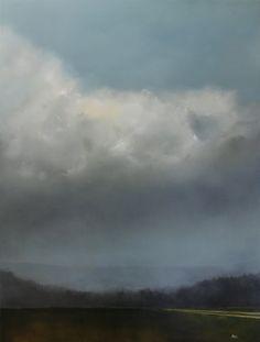 """Beyond the Pines"" 40x30 oil on panel adamhallart.com"