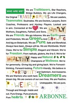 Arbonne - where it has been and where it is going. A SMART mix of direct selling and corporate platforms, expanding globally to provide pure, safe and beneficial products with proven results. Contact me to be a part of Arbonne, whether you want to try health transforming products or a life changing business!