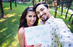 FirstThing.ro team - Invitatii de nunta personalizate cu fotografie Wedding invitation