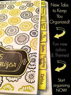 Editable classroom organizer for middle and high school teachers!  Everything you need to get organized for 2014-2015!