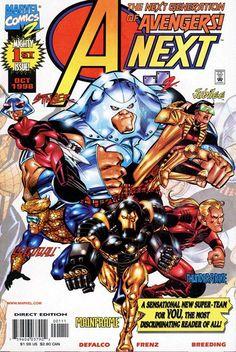 A-Next n°1 (1995) #marvel #comics #anext