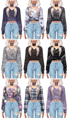 Kenzar Sims: Cherry Sweater Recolor • Sims 4 Downloads