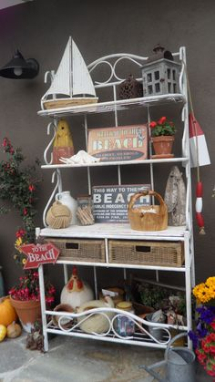 Re-use old bakers rack