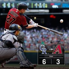 Brandon Drury's big game wasn't enough as the Dbacks dropped the final game of the series. 5/1/2016