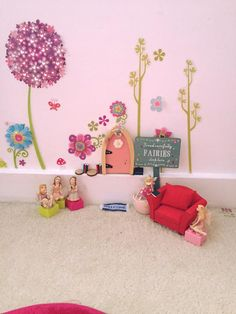 What a lovely home this fairy has! Fairy Homes, Little Ones, Bedroom Ideas, Toddler Bed, Happy, Fun, Kids, Furniture, Home Decor