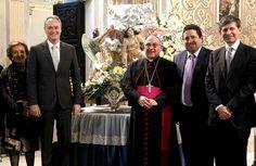 Restauración de La Peana Procesional de La Mare de Deu del Lledó, Patrona de Castellón, con motivo del II Año Mariano del Lledó