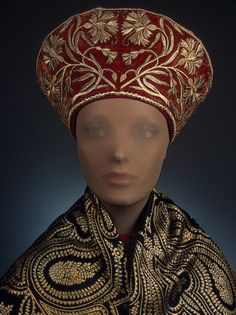 Woman's Headdress ,   Late 19th century  Russia