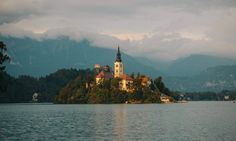Lake Bled is a must for a Slovenia road trip