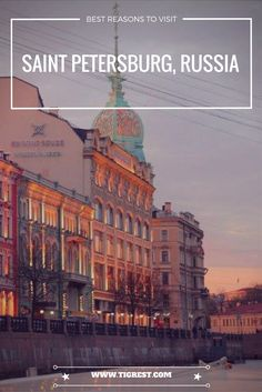 Saint Petersburg is