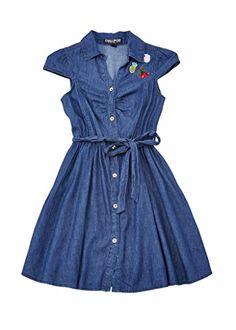 Chillipop Denim Dress for Big French Street Fashion, Street Styles, Denim, Big, Dresses, Vestidos, Street Style, Dress, Gown