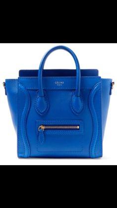 True blue Celine