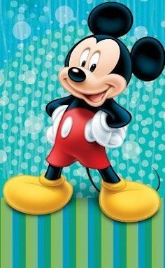 Disney Beach Towel Mickey Mouse Blue Surprise Bath Towel Cotton by JP…