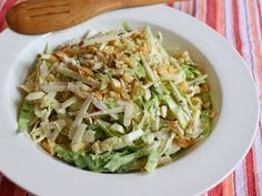 Apple Jimica Coleslaw - Got to try this.  Great video as well.