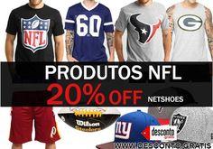 Oferta Netshoes produtos da NFL com 20% de desconto  http://desconto.gratis/cupom/oferta-netshoes-produtos-nfl-20-off/