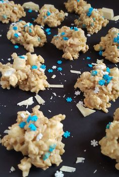 White Chocolate No Bake Cookies | A Sparkly Mess