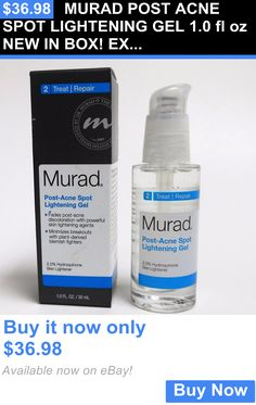 Acne and Blemish Treatments: Murad Post Acne Spot Lightening Gel 1.0 Fl Oz New In Box! Exp:4/18 BUY IT NOW ONLY: $36.98