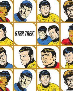 Star Trek - Original Series Cast - White