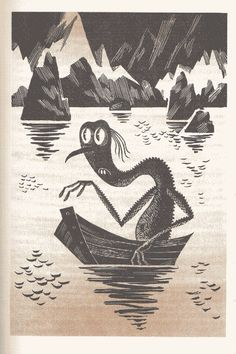 Awesome Illustrations from a 1972 Soviet Edition of 'The Hobbit' - J. Tolkien's characters have become highly recognizable cultural icons — who wouldn't know a hobbit when they saw one? Art And Illustration, Book Illustrations, Legolas, Gandalf, O Hobbit, Tove Jansson, Jrr Tolkien, Iconic Characters, Animation