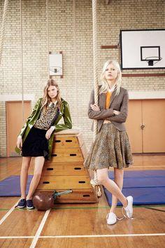 Zara F.W 14.15 Campaign    Ola Rudnicka, Malaika Firth, & Alexandra Elizabeth Ljadov