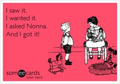 Who doesn't love their Nonna!!!