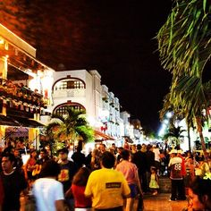 5ª Avenida en Playa del Carmen, Quintana Roo
