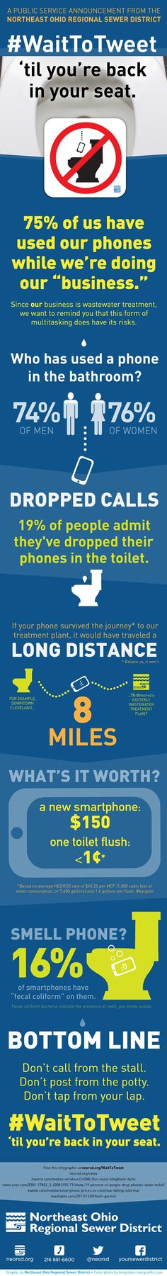 The Sewer District Would Like to Remind You to Not Use Your Phone While on the Toilet | Scene and Heard: Scene's News Blog