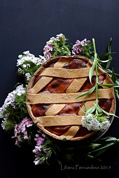 Fonduephoto: Pastiera napoletana senza glutine