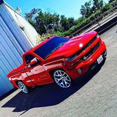 2017 #Silverado #Single_Cab #Lowered