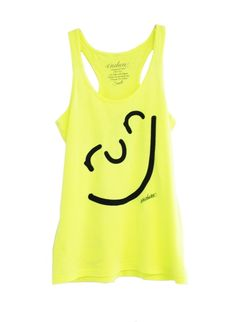 Endure Tanks: Run Happy Face Tank: Running Apparel #runner #running #gifts