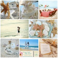 Beach Theme Bridal Shower | The Date Etiquette | Bridal Shower Invitations -Cheap Wedding Shower ...
