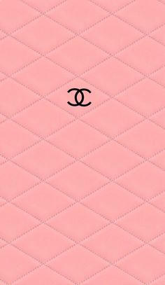 CHANELロゴピンクレザー iPhone壁紙 Wallpaper Backgrounds iPhone6/6S and Plus