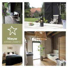 Nieuw adresje op de website design b b het raadhuys in for Design hotel zeeland