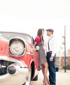 Kathryn and Jacob's Notebook Inspired Engagement Session by Will Greene Photography Car Engagement Photos, Elegant Engagement Photos, Engagement Session, Mixed Couples, Black Couples, Couple Moments, Cool Poses, Wedding Blog, Wedding Ideas