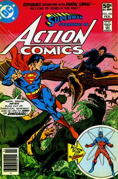 Action Comics 516, February 1981, cover by Rich Buckler and Dick Giordano.  Auction your comics on http://www.comicbazaar.co.uk