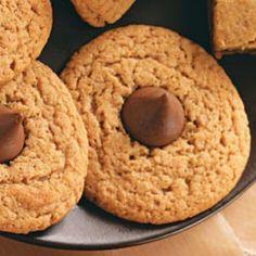 Healthy Gluten-Free Diabetic Friendly Peanut Butter Kiss Cookies - Recipe