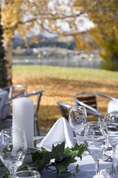 Edgewater Lake Wanaka wedding venue - beautifuly in Autumn! http://www.edgewater.co.nz/resort/weddings/