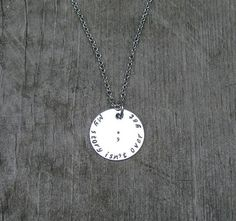 My Story Isn't Over Yet Semicolon Necklace by RoxysCreations