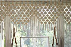 137 Macramé Curtains More