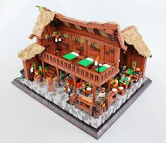 The Green Goblet Lego Projects, Projects To Try, The Hobbit Game, Lego Kingdoms, Lego Winter, Minecraft Medieval, Lego Boards, Amazing Lego Creations, Survival
