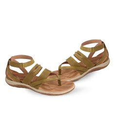 3a9db1af1a3596 Acorn Loden C2G Lite Ankle Leather Sandal - Women