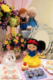 Fabiana Moura - Projetos Personalizados: Festa das Princesas Princess Birthday, Teddy Bear, Children, Party, Ballet, India, Minecraft Birthday Party, Prince Party, Log Projects