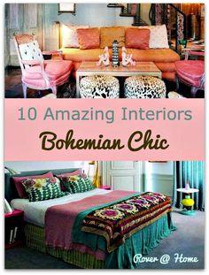 Amazing Bohemian Interiors